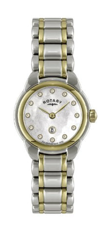 Rotary Ladies'Watch XS Analogue Quartz Stainless Steel Coated / 41L LB02602