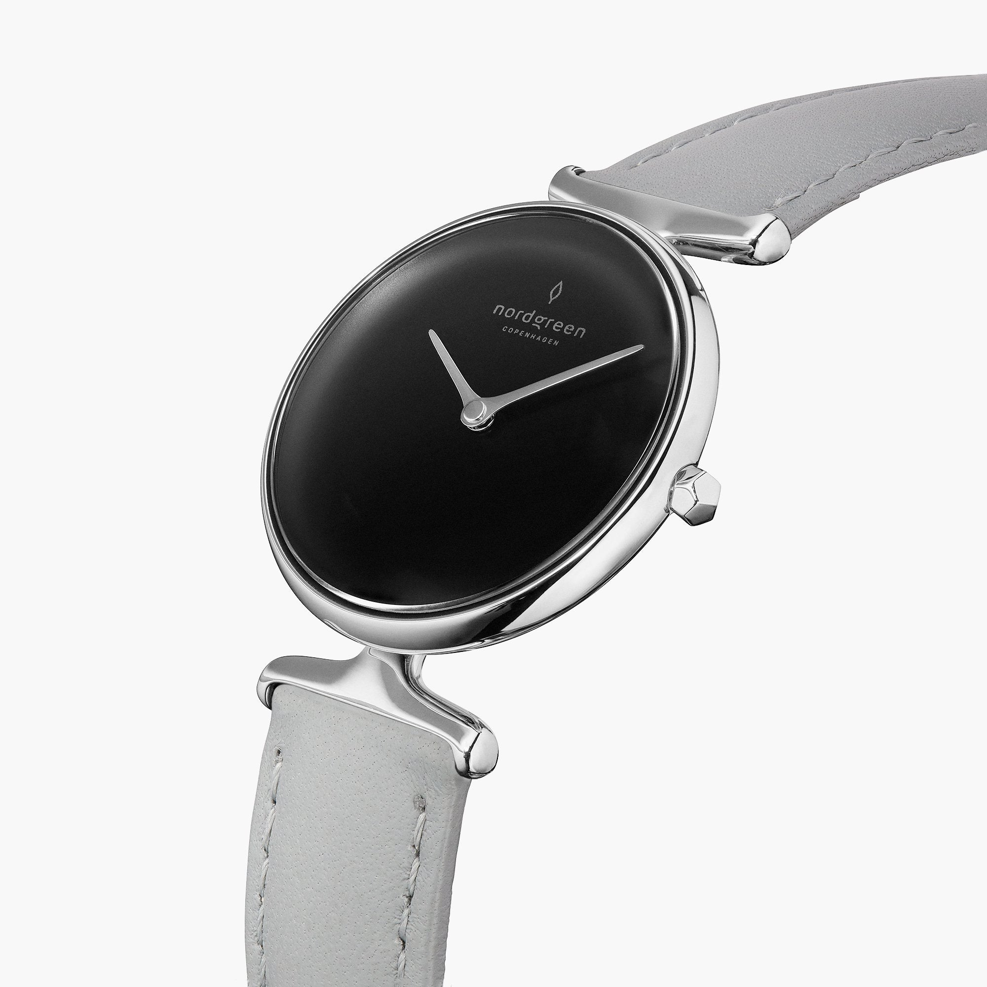 Unika | Black Dial - Grey Leather