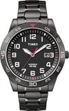 Timex Men's Quartz Watch with Dial Analogue Display and Stainless Steel Bracelet