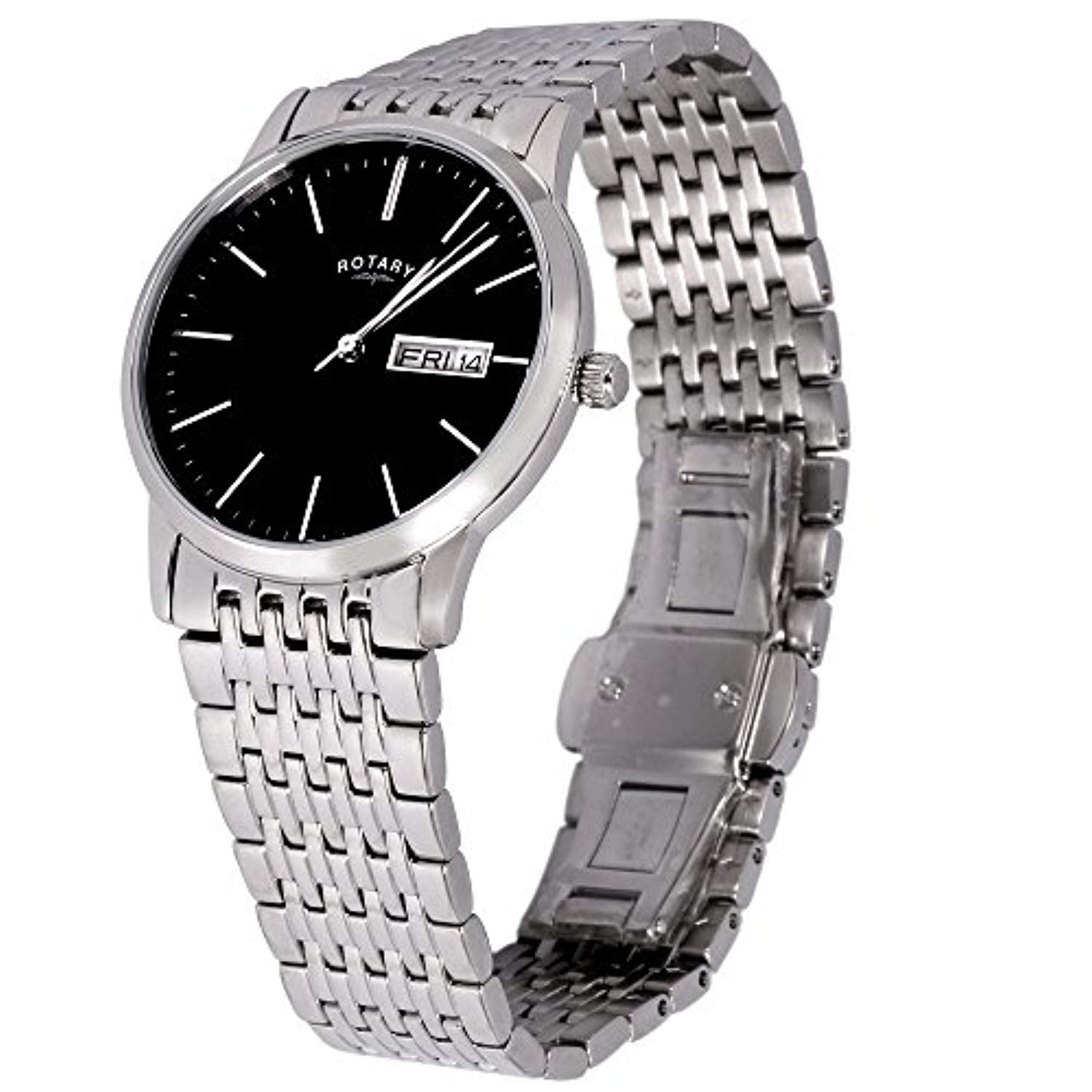 Gents Stainless Steel Classic Rotary Watch one left