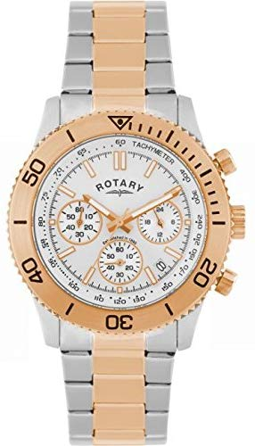 Mens Rotary Chronograph Watch GB00155/06