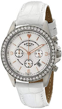Rotary Women's ls00147/41 Analog Display Quartz White Watch