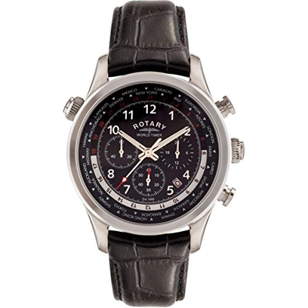 Mens Rotary Exclusive Chronograph Watch GS00485/04