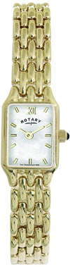 Rotary LB00739/41 Ladies Gold PVD Stainless Steel Bracelet Watch