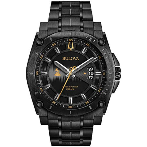 Bulova Men's Quartz Stainless Steel Watches Grammy Wristwatches 2018