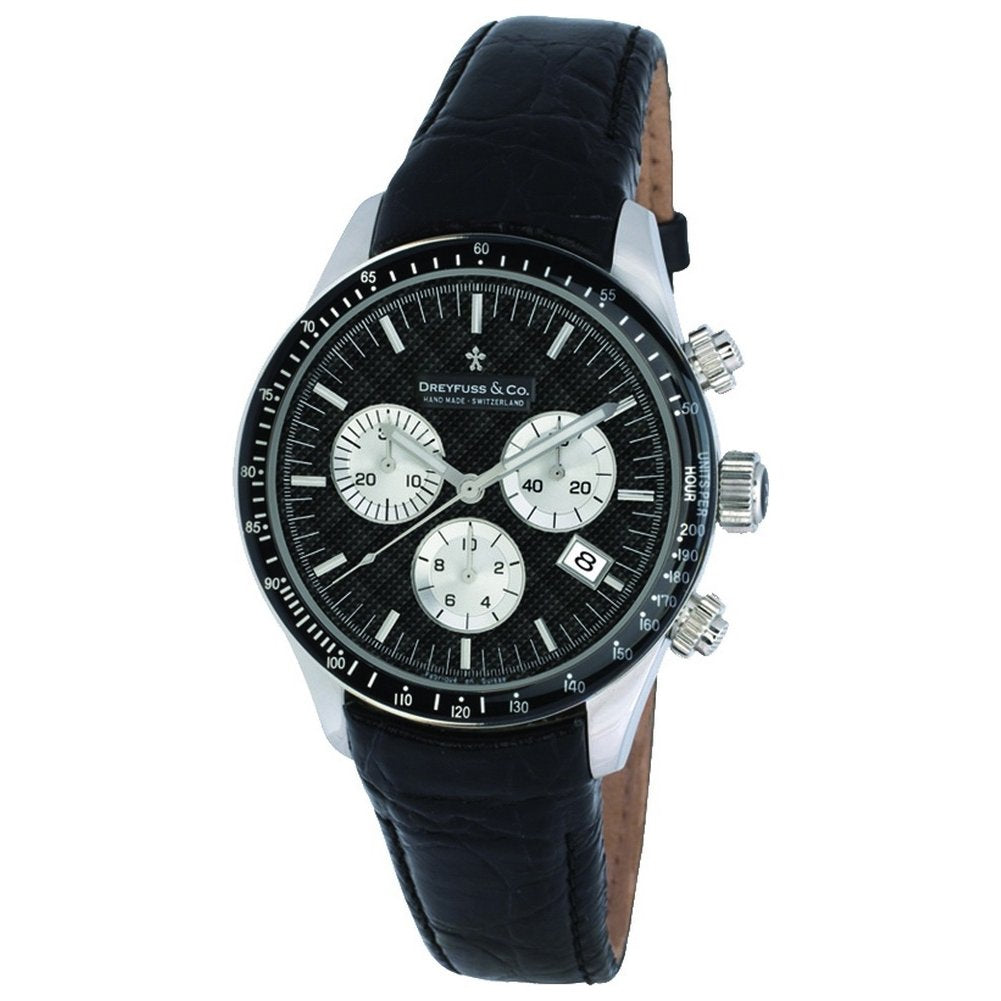 Dreyfuss Mens Chronograph Quartz