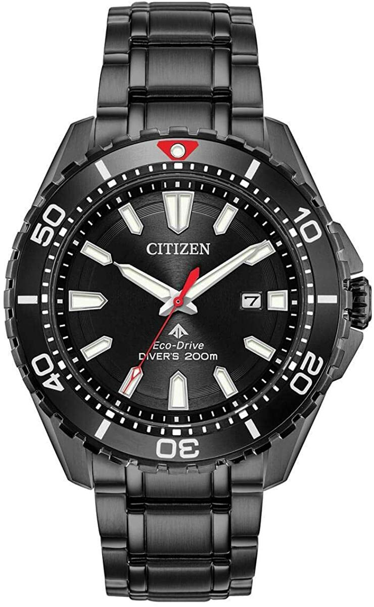 Citizen BN0195-54E Promaster Diver Men's Watch 45mm Black Stainless Steel