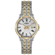 Rotary LB02821/21 – Wristwatch women's, stainless steel strap