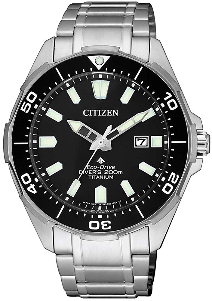 Citizen Mens Analogue Quartz Watch with Titanium Strap BN0200-81E