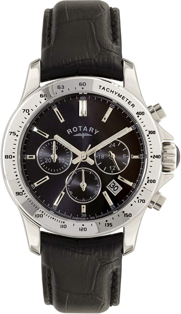 Mens Rotary Exclusive Chronograph Watch GS00361/04