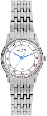 Rotary Ladies Mother of Pearl Stainless Steel Watch