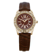 Rotary Women's Quartz Brown Dial Analogue Display and Brown Leather Strap LS30021/16