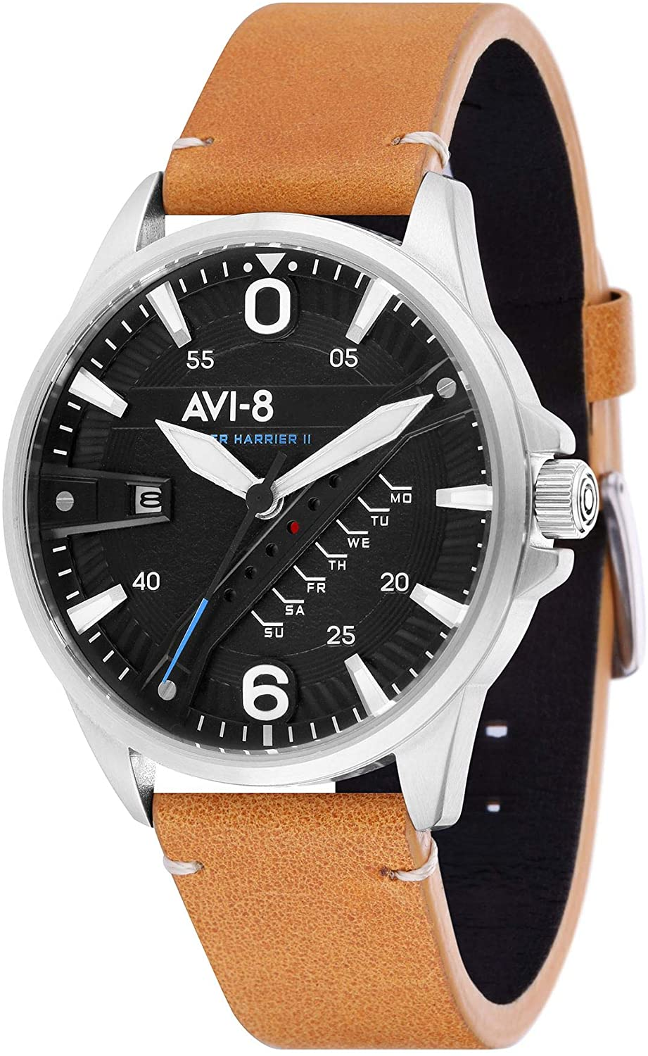 AVI-8 Men's Hawker Harrier II 45mm Quartz Watch AV-4055-01