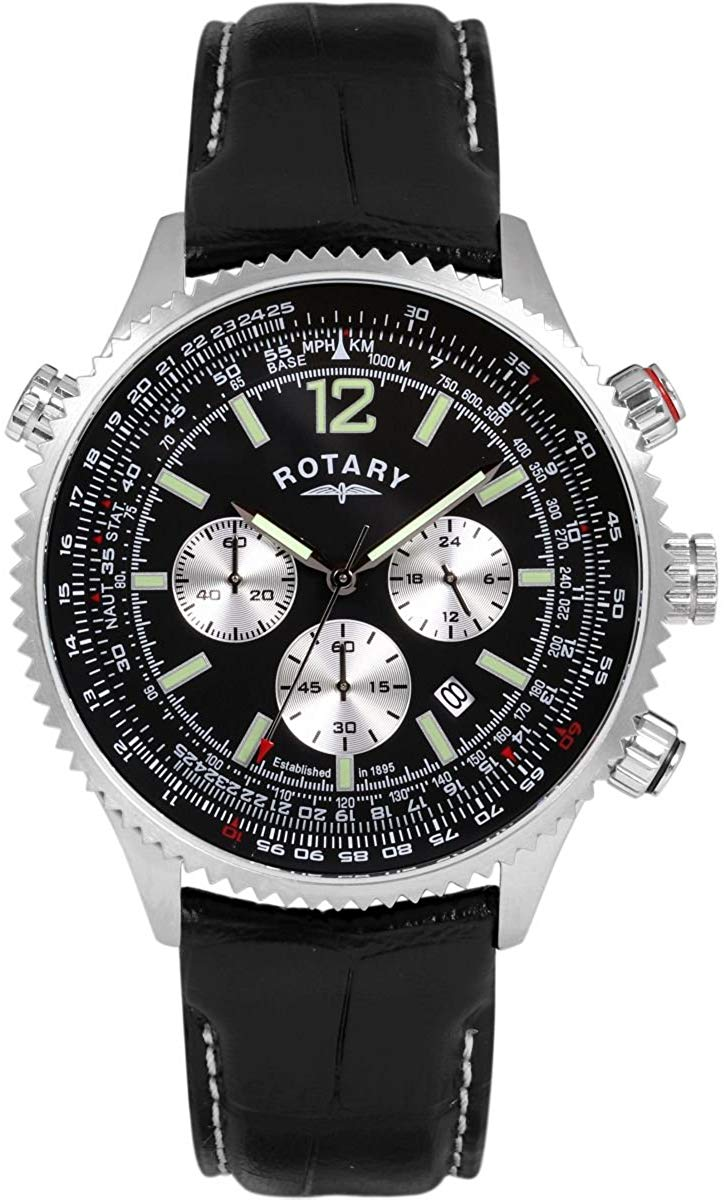 Mens exclusive rotating chronograph watch gs00144 / 04
