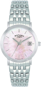 Rotary Women's Quartz Watch with Black Dial Analogue Display LB02622/07