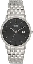 Rotary GB02622/20 Gents White Case Stainless Steel Bracelet Watch
