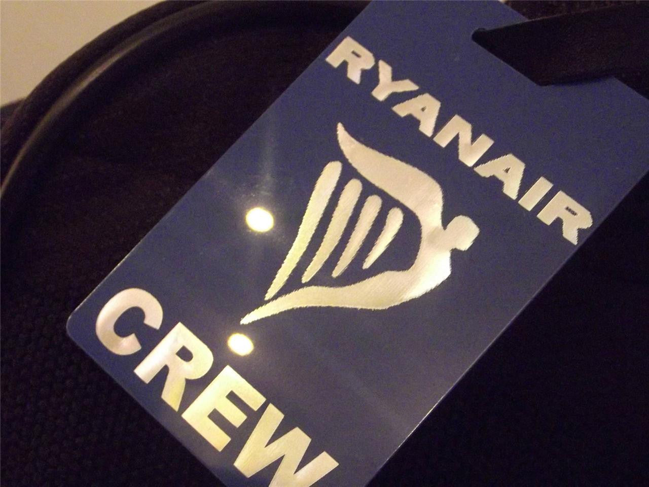 Novelty Luggage Crew Tags - Ryan Air Crew (Various Colours) -  Inflightgoods   - 3