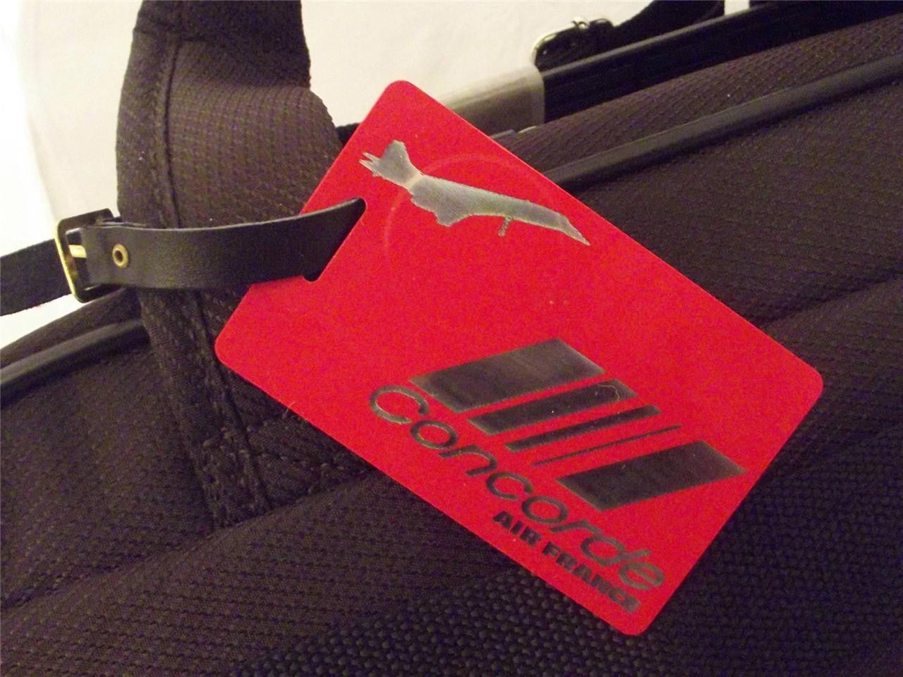 Novelty Luggage Crew Tags - Concorde VIP (Various Colours) -  Inflightgoods   - 1
