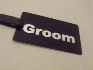 Novelty Luggage Crew Tags - Wedding Themed - Various Styles -  Inflightgoods   - 4