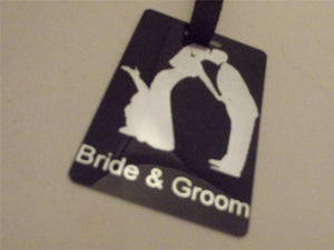Novelty Luggage Crew Tags - Wedding Themed - Various Styles -  Inflightgoods   - 3