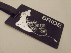 Novelty Luggage Crew Tags - Wedding Themed - Various Styles -  Inflightgoods   - 6
