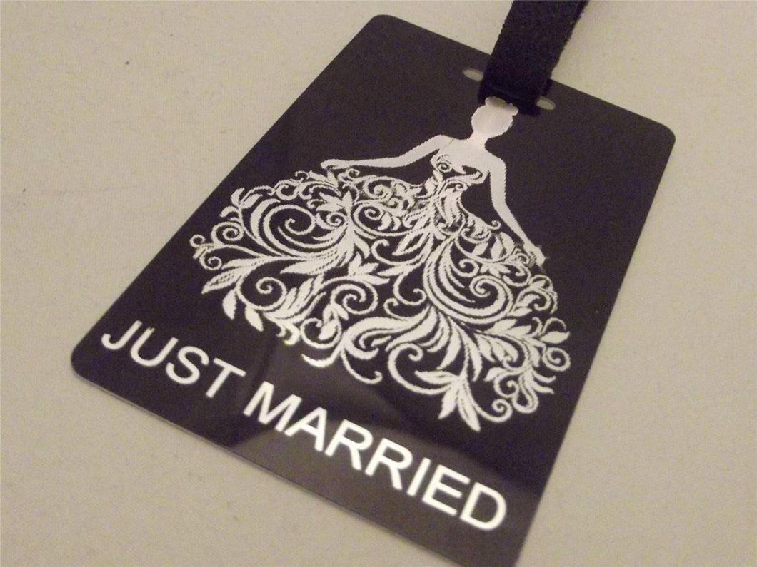 Novelty Luggage Crew Tags - Wedding Themed - Groom-Brides-Best Man -Stagg -  Inflightgoods   - 1