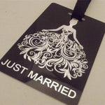 Novelty Luggage Crew Tags - Wedding Themed - Various Styles -  Inflightgoods   - 1