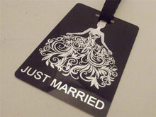Novelty Luggage Crew Tags - Wedding Themed - Groom-Brides-Best Man -Stagg