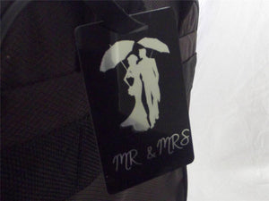 Novelty Luggage Crew/Wedding Tags - Mr & Mrs (Various Styles) -  Inflightgoods   - 3