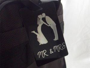 Novelty Luggage Crew/Wedding Tags - Mr & Mrs (Various Styles) -  Inflightgoods   - 2
