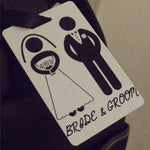 Novelty Luggage Crew Tags - Bride & Groom - Various Styles -  Inflightgoods   - 4