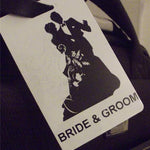 Novelty Luggage Crew Tags - Bride & Groom - Various Styles -  Inflightgoods   - 2