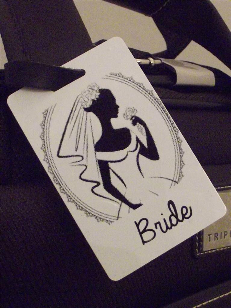 Novelty Luggage Crew Tags - Bride (Style 4) brides ,mother , sister , friend -  Inflightgoods