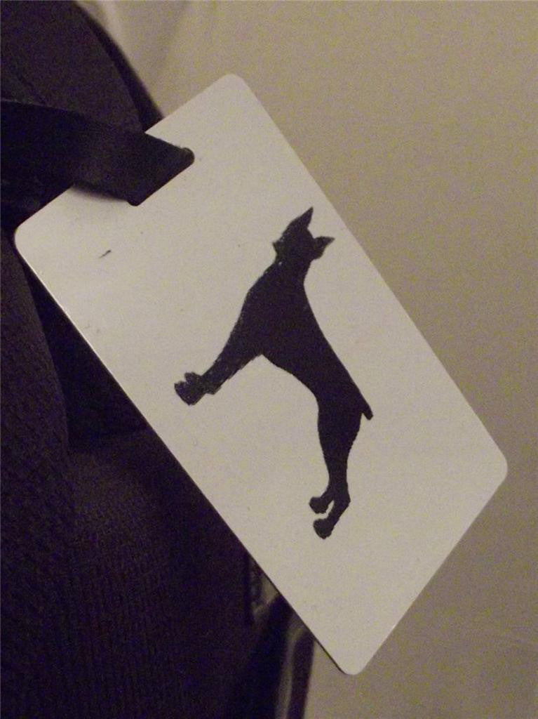 Novelty Luggage Crew Tags - Dog Tags - Various Styles -  Inflightgoods   - 4