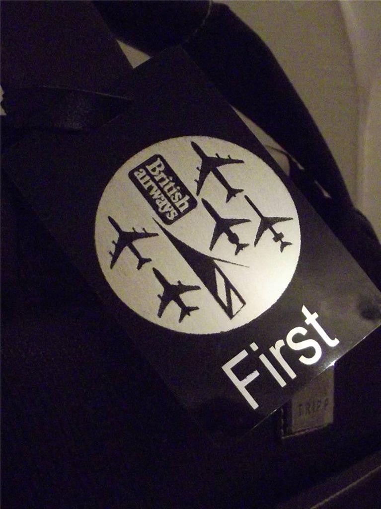 Novelty Luggage Crew Tags - British Airways - First Class (Style 4) -  Inflightgoods