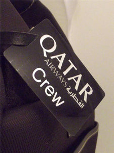 Novelty Luggage Crew Tags - Qatar Crew -  Inflightgoods