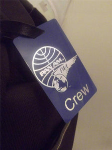Novelty Luggage Crew Tags - Panam Crew Tag -  Inflightgoods