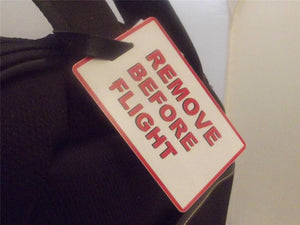Novelty Luggage Crew Tags - Remove Before Flight -  Inflightgoods