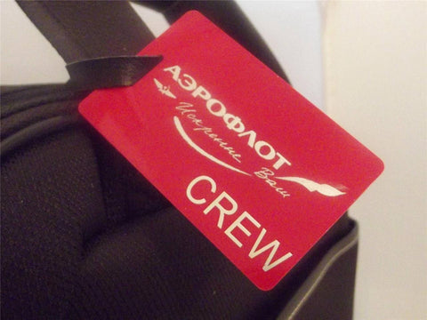 Novelty Luggage Crew Tags - Polish Airlines -  Inflightgoods