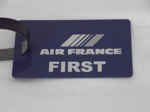 Novelty Luggage Crew Tags - Blue, Air France  ( CREW & 1ST CLASS) -  Inflightgoods   - 3