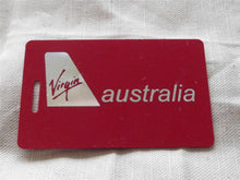 Novelty CREW LUGGAGE LABEL VIRGIN BUSINESS CLASS