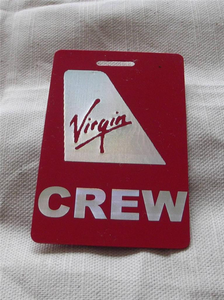 Novelty CREW LUGGAGE LABEL VIRGIN BUSINESS CLASS -  Inflightgoods   - 3
