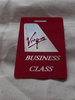Novelty CREW LUGGAGE LABEL VIRGIN BUSINESS CLASS -  Inflightgoods   - 2