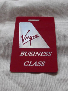 Novelty CREW LUGGAGE LABEL VIRGIN BUSINESS CLASS -  Inflightgoods   - 1