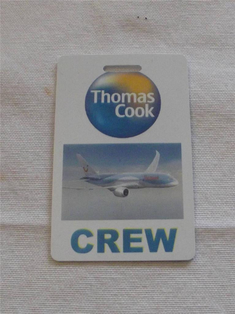 Novelty CREW LUGGAGE Tagg  Thomas cook -  Inflightgoods   - 1