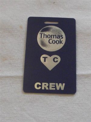 Novelty CREW LUGGAGE Tagg  Thomas cook -  Inflightgoods   - 3