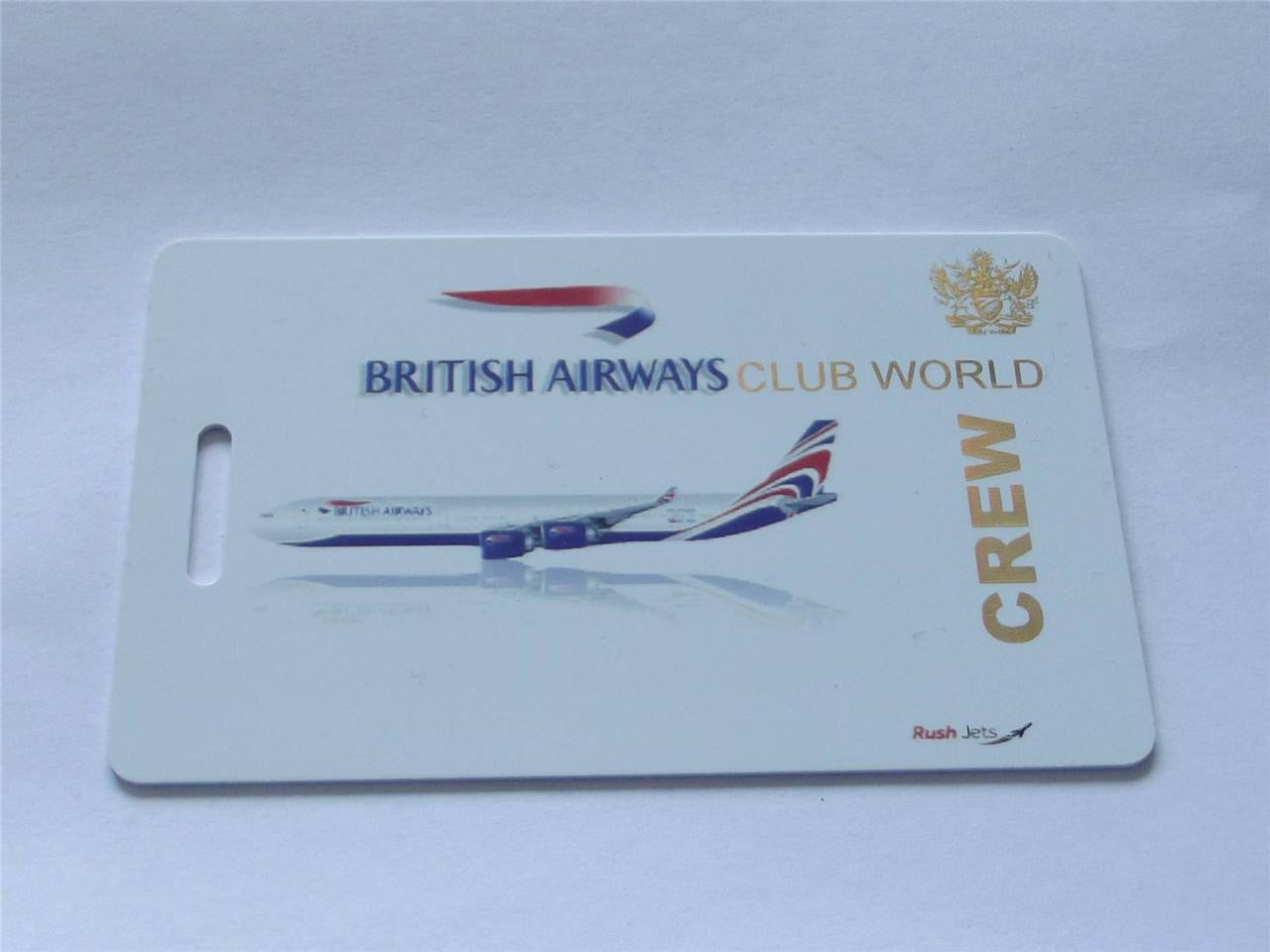 Novelty CREW LUGGAGE Tagg  BA  club world -  Inflightgoods   - 2