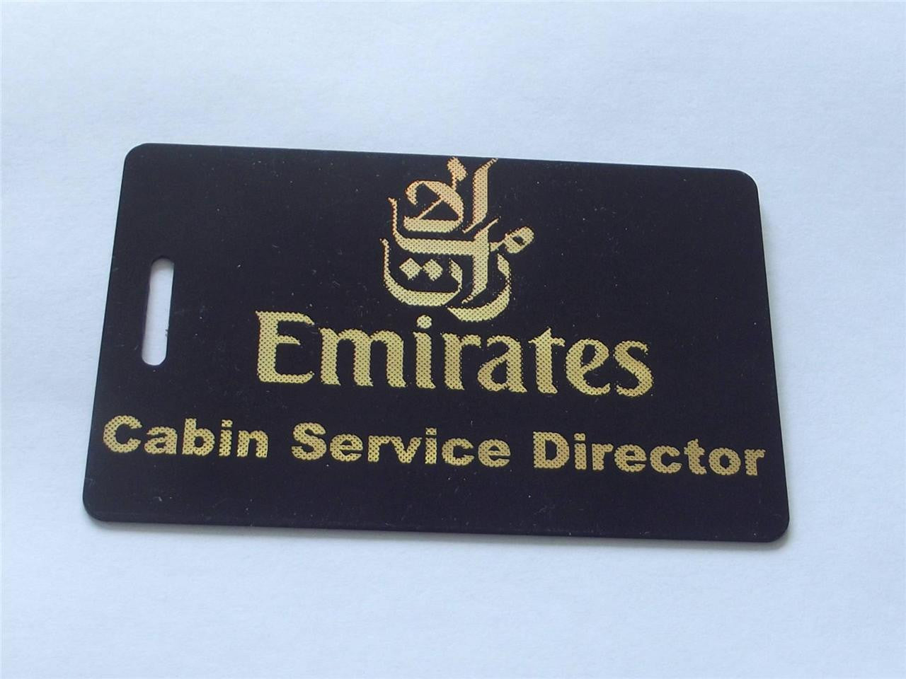 Novelty CREW LUGGAGE Tagg  Emirates c.s.d -  Inflightgoods   - 1