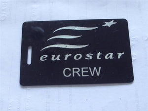 Novelty CREW LUGGAGE Tagg  EURO STAR CREW -  Inflightgoods   - 2