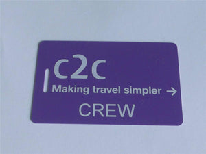 Novelty CREW LUGGAGE Tagg  C2C CREW -  Inflightgoods   - 2